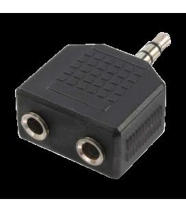 Adapter 3,5 mini jack 1x --> 2x LogiLink