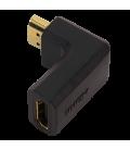 Adapter HDMI (F) ---> HDMI (M) 90° LogiLink