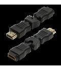 Adapter HDMI (F) ---> HDMI (M) 270° draaibaar LogiLink