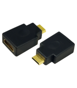 Adapter HDMI (F)  HDMI-mini (M) LogiLink
