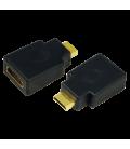 Adapter HDMI (F)  HDMI-mini (M) LogiLink