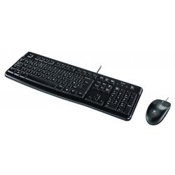 BE DT Logitech MK120 Zwart bedraad Retail