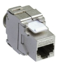 Keystone Jack RJ45 Cat6A Shielded LogiLink standard