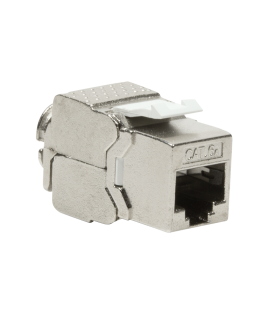 Keystone Jack RJ45 Cat6A Shielded LogiLink Slim