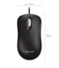 Microsoft Basic Optical Mouse Zwart OEM