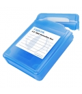 "1x3,5"" HDD Protection Box LogiLink Blauw"