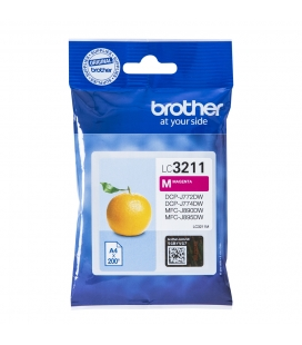 Brother LC-3211M Magenta 200 pagina's (Origineel)