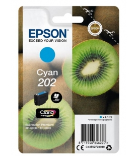 Epson Claria Premium 202 Cyaan 4,1ml (Origineel)
