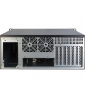 Inter-Tech 4U-4088-S Server Case 0 Watt / Zwart