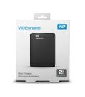 """2,0TB WD Elements Portable 2,5""""/Zwart/USB 3.0"""