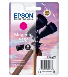 Epson 502 Singelpack Magenta 3,3ml (Origineel)