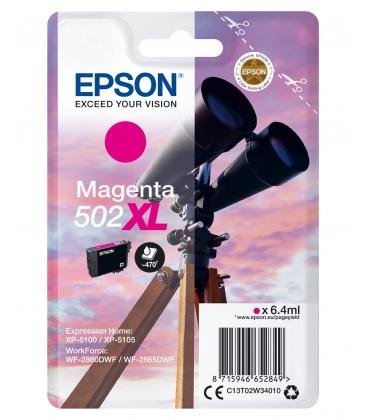 Epson 502XL Singelpack Magenta 6,4ml (Origineel)