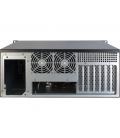 Inter-Tech 4U-4098-S Server Case 0 Watt / Zwart