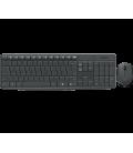 BE DT Logitech MK235 Zwart draadloos Retail