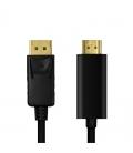DisplayPort 1.2  HDMI v1.4 1.00m LogiLink