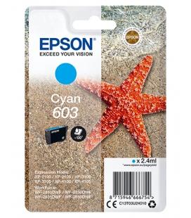 Epson 603 Singlepack Cyaan 2,4ml (Origineel)