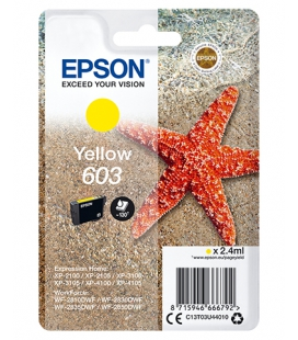 Epson 603 Singlepack Geel 2,4ml (Origineel)