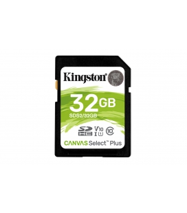 SDHC Card 32GB Kingston UHS-I U1 Canvas Select Plus