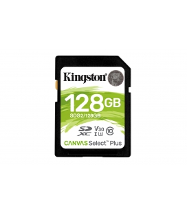 SDXC Card 128GB Kingston UHS-I Canvas Select Plus