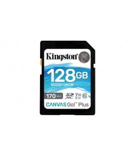 SDXC Card 128GB Kingston U3 V30 Canvas Go! Plus