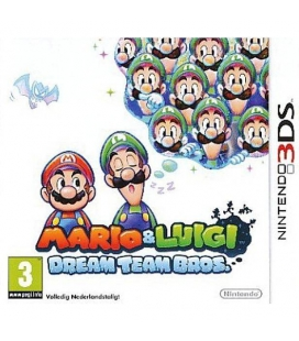 3DS Mario & Luigi: Dream Team Bros