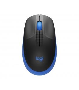 Logitech M190 Optical USB Zwart-Blauw Retail Wireless