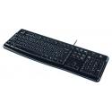KB Logitech K120 voor Business Zwart bedraad OEM