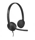 Logitech Stereo Headset H340 grijs