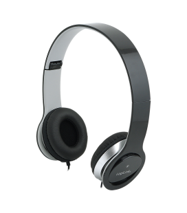 LogiLink Stereo High Quality Headset zwart