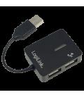 LogiLink 4 Port Hub, USB 2.0 passief Zwart