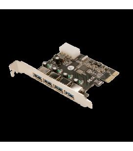 PCIExpress card USB3.0 (4xe) LogiLink