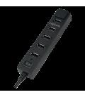 LogiLink 7 Port Hub, USB 2.0 actief Zwart