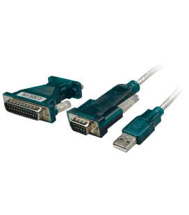 Adapter USB --> Serieel LogiLink incl. 25-pin Adapter