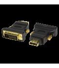 Adapter HDMI (F)  DVI-D (M) LogiLink