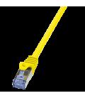 RJ45 10.00m Geel Cat6A S/FTP LogiLink