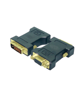 Adapter DVI-I(M)  VGA (F) LogiLink