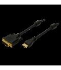 HDMI --> DVI-D 5.00m LogiLink