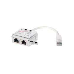 Kabel splitter RJ45 Cat5e 1:1 Shielded LogiLink