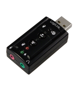 LogiLink Geluidskaart Virtueel 7.1 USB