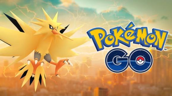 Pokémon Go Zapdos beschikbaar
