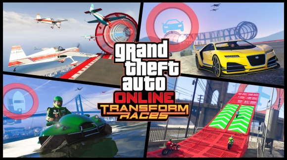 GTA Online Transform Races trailer legt concept uit