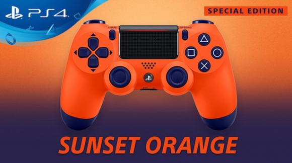 Sony toont oranje PS4 controller