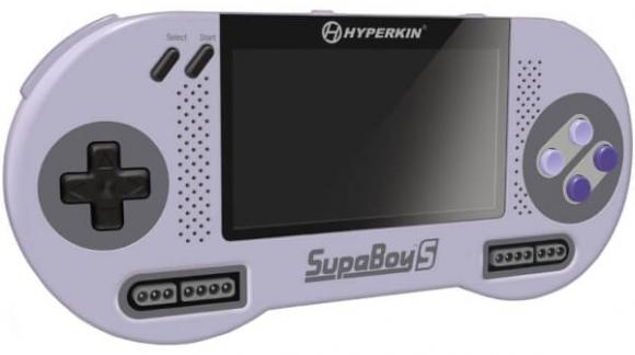Ervaar de Hyperkin Supaboy S - De nieuwe Nintendo SNES