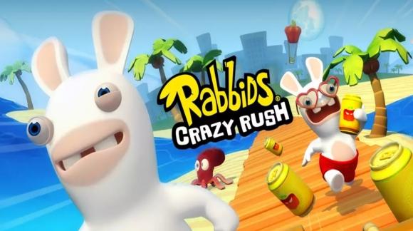 Rabbids Crazy Rush is nu gratis beschikbaar
