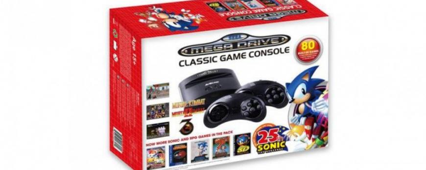 SEGA Mega Drive classic console maakt ook zijn terugkeer