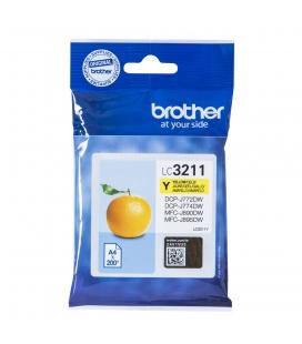 Brother LC-3211Y Geel 200 pagina's (Origineel)