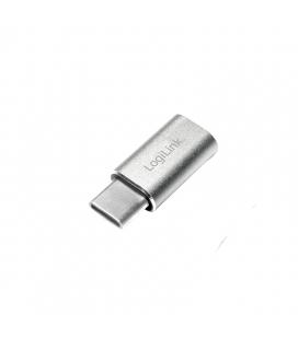 Adapter USB-C (M) --> USB 2.0 micro B (F) LogiLink