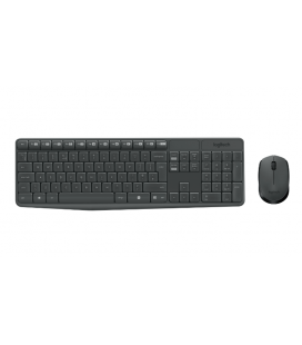 DT Logitech MK235 Zwart draadloos Retail