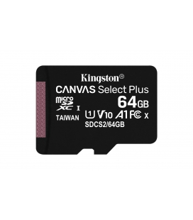 SDHC Card Micro 64GB Kingston UHS-I Canvas Select Plus