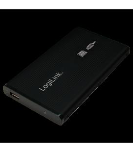 "2.5"" Logilink Enclosure USB2.0 / SATA / Zwart"